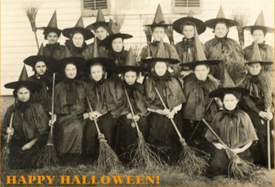 Class Picture of Witches