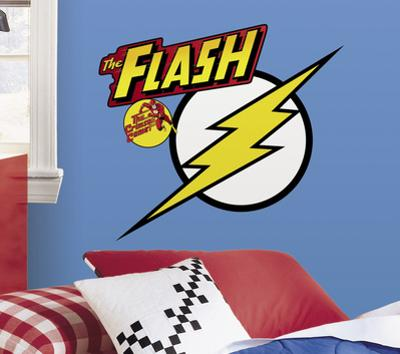 Classic Flash Logo Peel and Stick Giant Wall Decals