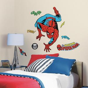 Classic Spider-Man Comic Peel and Stick Wall Decals
