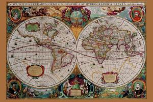 Classical World Map