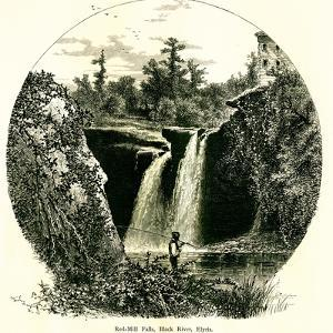Red-Mill Falls, Black River, Elyria, Ohio by Classix