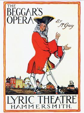 The Beggar's Opera by Claud Lovat Fraser
