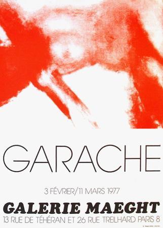 Expo Galerie Maeght 77 by Claude Garache