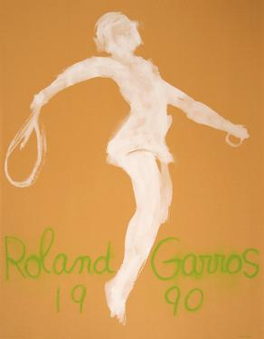 Roland Garros, 1990 by Claude Garache