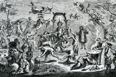 The Witches' Sabbath by Claude Gillot