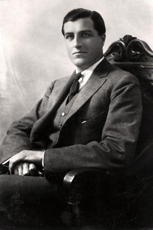 Godfrey Tearle (1884-195), American Actor, 1916
