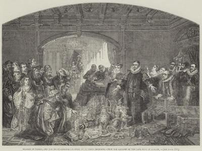 William of Nassau, and the Money-Lenders, from the Gallery of the Late King of Holland