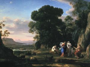 Judgement of Paris (1645-164) by Claude Lorraine