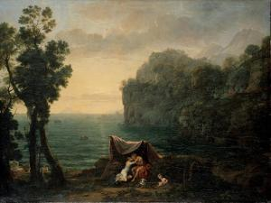 Landscape with Acis and Galatea, 1657 by Claude Lorraine