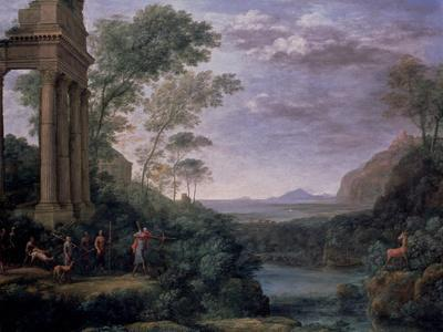 Landscape with Ascanius Shooting the Stag of Sylvia, 17th Century