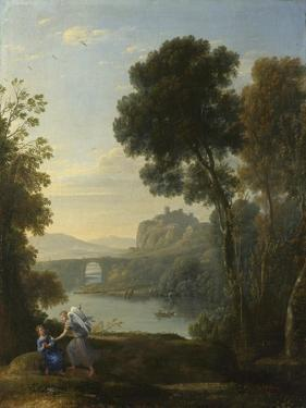 Landscape with Hagar and the Angel, 1646 by Claude Lorraine