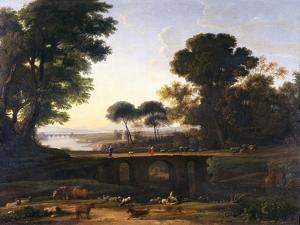 Landscape by Claude Lorraine