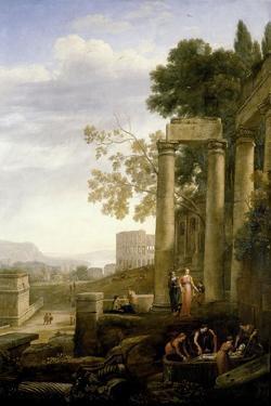 The Burial of Saint Seraphia, 1639-1640 by Claude Lorraine