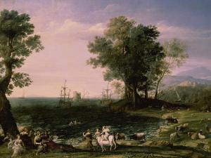 The Rape of Europa, 1655 by Claude Lorraine
