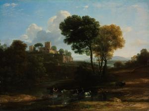 Villa in the Roman Campagna, 1646-1647 by Claude Lorraine