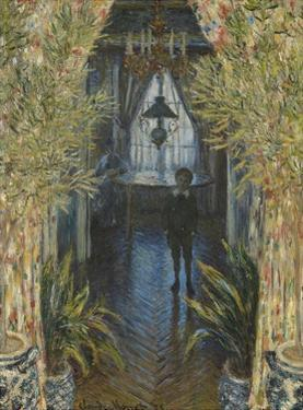 A Corner of the Apartment by Claude Monet