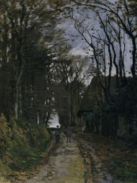 A Normandy Path by Claude Monet