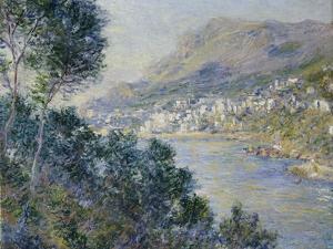 A View of Cape Martin, Monte Carlo by Claude Monet