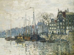 Amsterdam, 1874 by Claude Monet