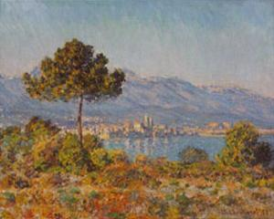 Antibes- Notre-dame by Claude Monet