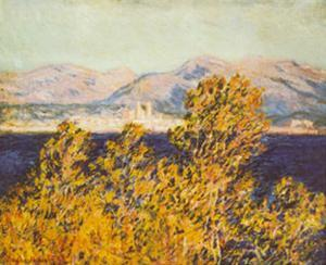 Antibes, View of the Cap, Mistral Wind, c.1888 by Claude Monet