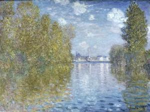 Autumn in Argenteuil by Claude Monet