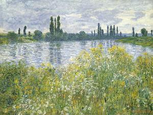 Banks of the Seine, Vetheuil, 1880 by Claude Monet