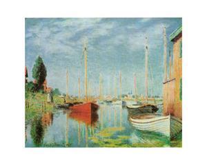 Barche Sportive by Claude Monet