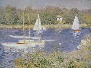 Basin D'Argenteuil by Claude Monet