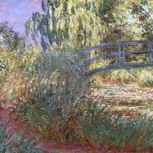 Bassin aux Nympheas et Sentier au Bord de l'Eau, 1900 by Claude Monet