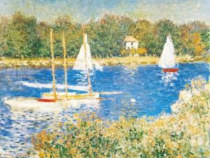Bassin d'Argenteuil, c.1874 by Claude Monet