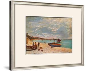 Beach at Sainte-Adresse by Claude Monet
