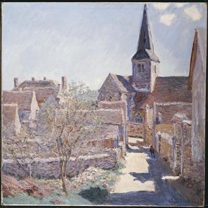 Bennecourt, 1885 by Claude Monet