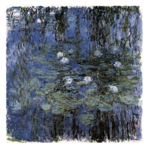 Blue Waterlilies by Claude Monet