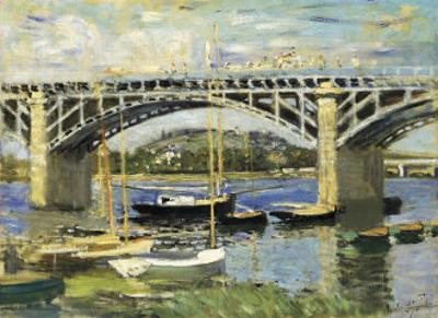 Bridge at Argenteuil by Claude Monet