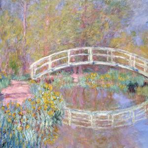Bridge in Monet's Garden, 1895-96 by Claude Monet