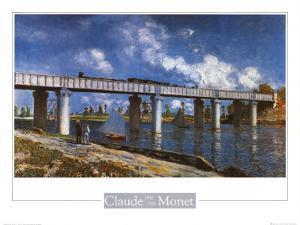 Bridge by Claude Monet