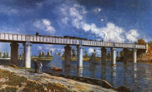 Bridge by Claude Monet