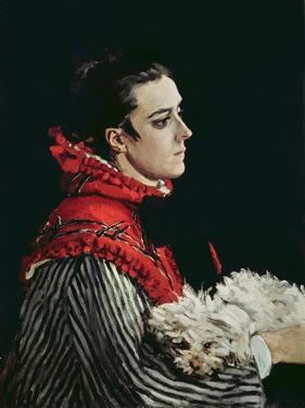 Camille Monet by Claude Monet
