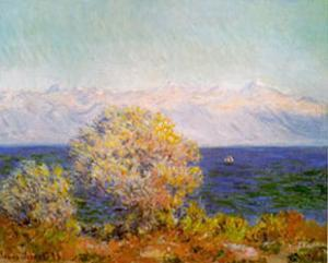 Cap D'antibes, Mistral by Claude Monet
