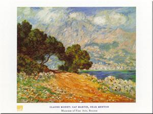Cap Martin by Claude Monet