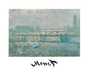 Charing Cross Bridge by Claude Monet