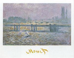 Charing Cross Bridge by Claude Monet