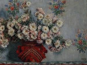Chrysanthemums, 1878 by Claude Monet