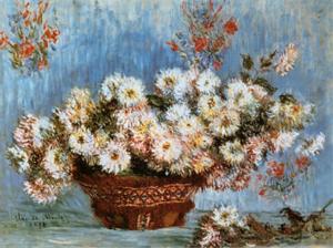 Chrysanthemums, c.1878 by Claude Monet