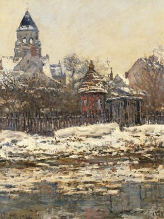 Church at Vetheuil by Claude Monet
