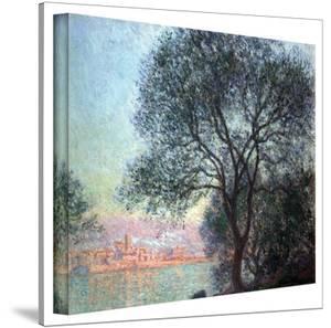 Claude Monet 'Antibbes' Wrapped Canvas Art by Claude Monet