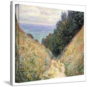 Claude Monet 'Footpath' Wrapped Canvas Art by Claude Monet