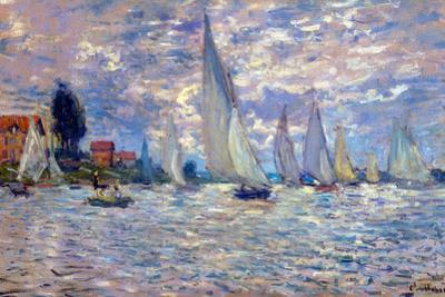 Claude Monet Les Barques by Claude Monet