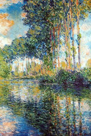 Claude Monet Poplars on the Epte